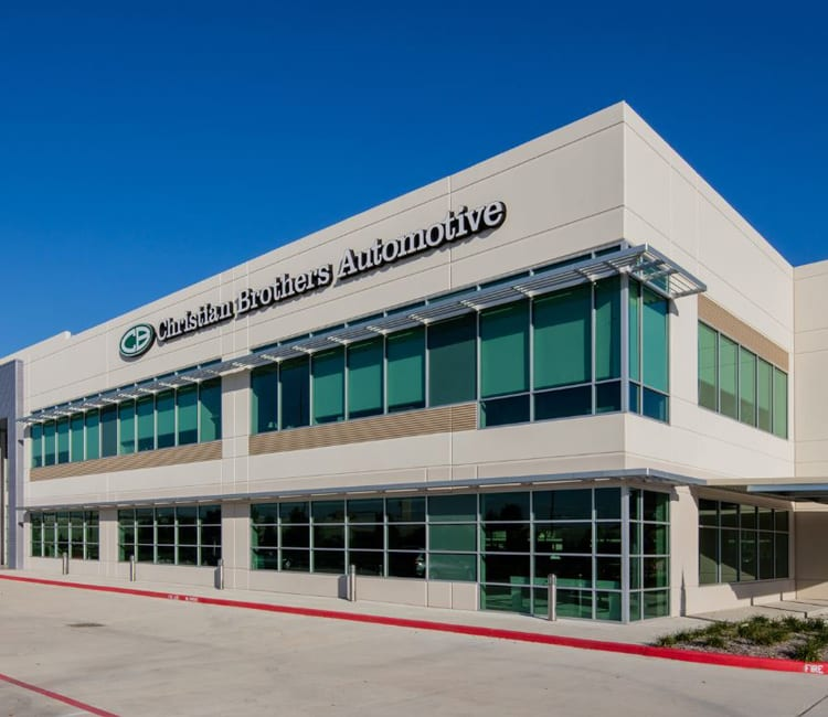 christian brothers automotive with roller shades in Houston TX