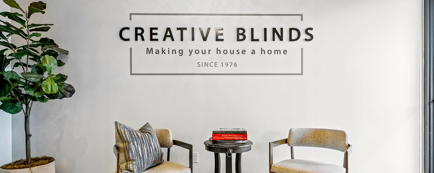 creative blinds gallery window treatment showroom Houston TX contact us for FREE consultation