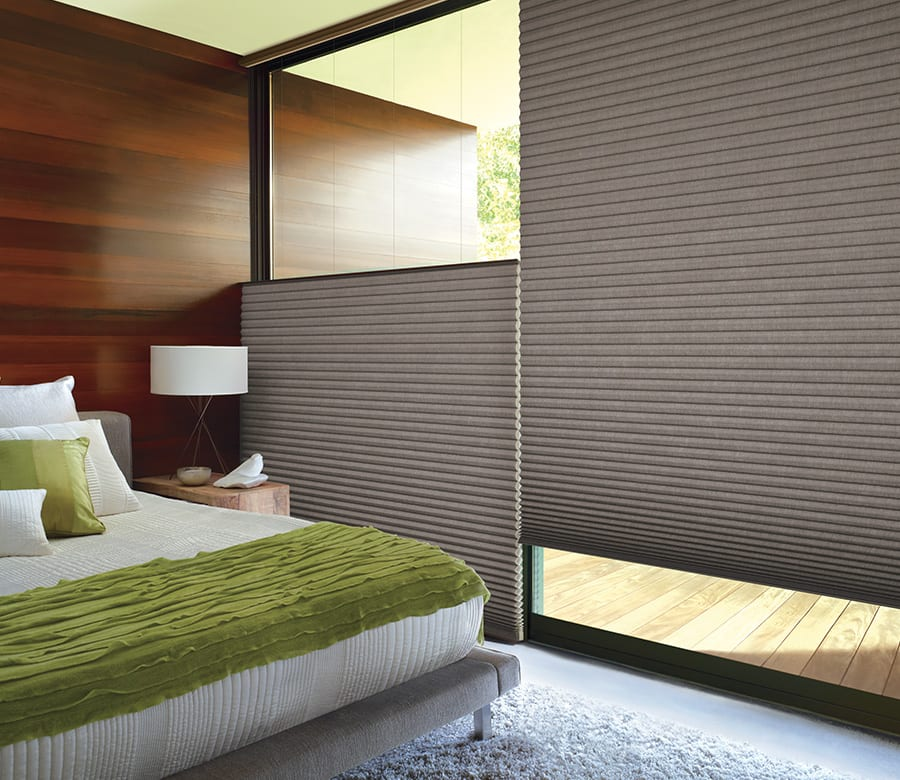 bedroom top down bottom up applause honeycomb shades houston TX
