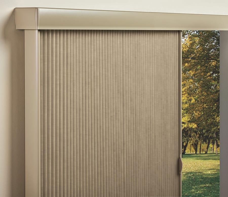 Hunter Douglas Screen doors duette vertical blinds Houston TX