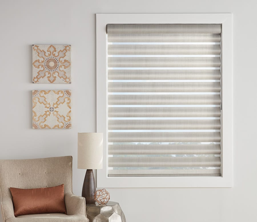 Hunter douglas energy efficient pirouette shades Houston TX