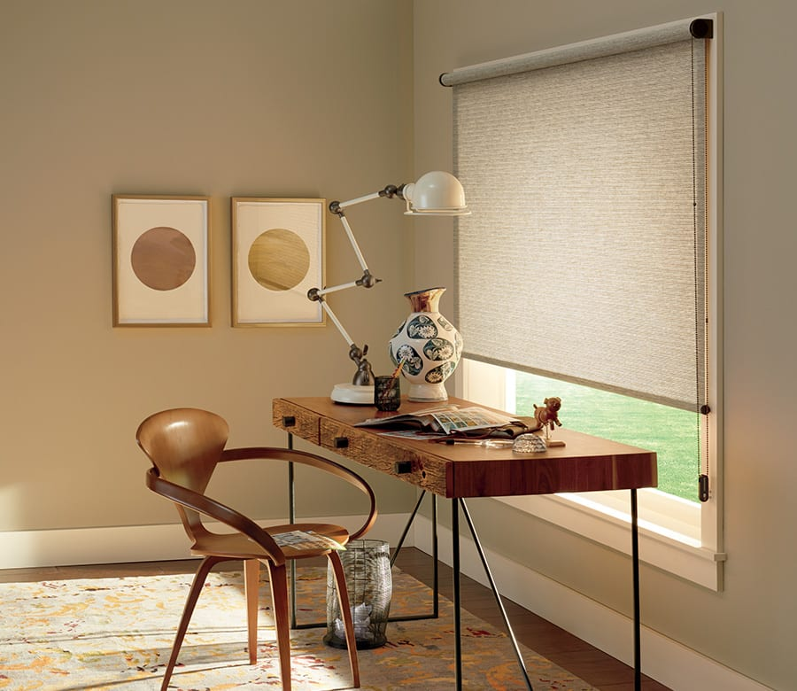 office room darkening roller shades houston tx