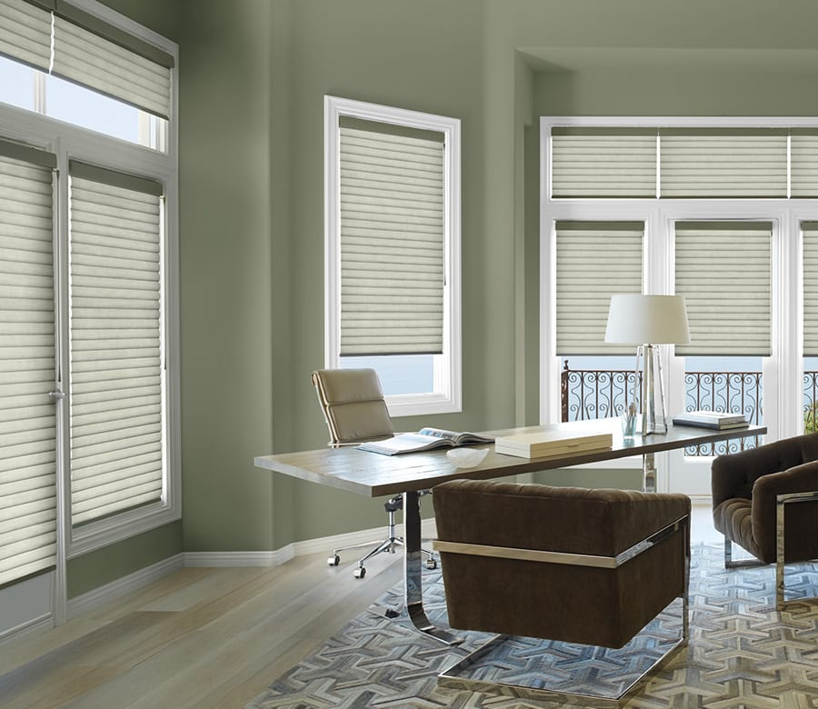 office energy efficiency sonnette shades Houston TX