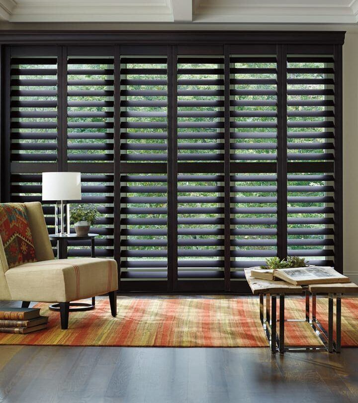 living room energy efficient insulated shutters