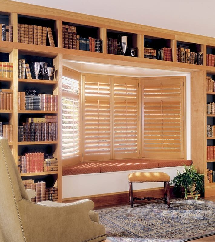 energy efficient insulated shutters home office