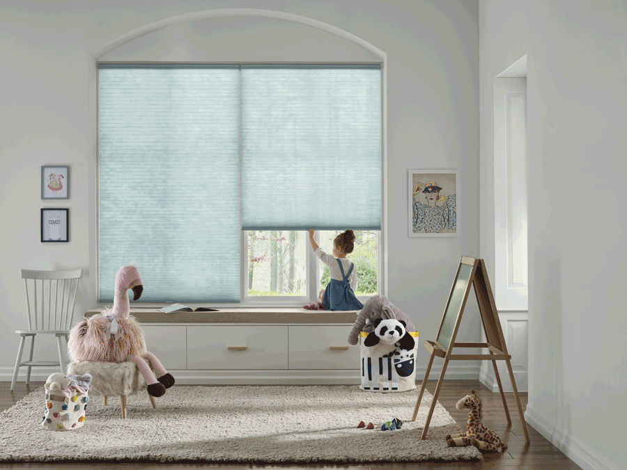 child safe with cordless blinds and shades Houston