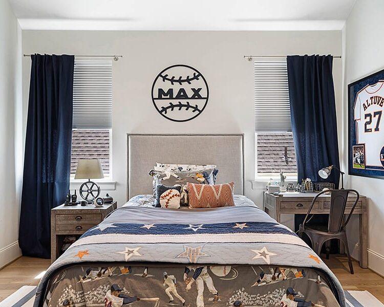 child's bedroom white honeycomb shades Houston TX