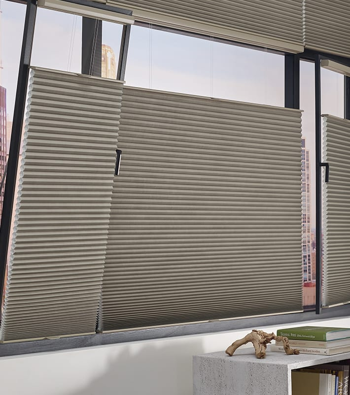 tilt turn windows duette honeycomb shades
