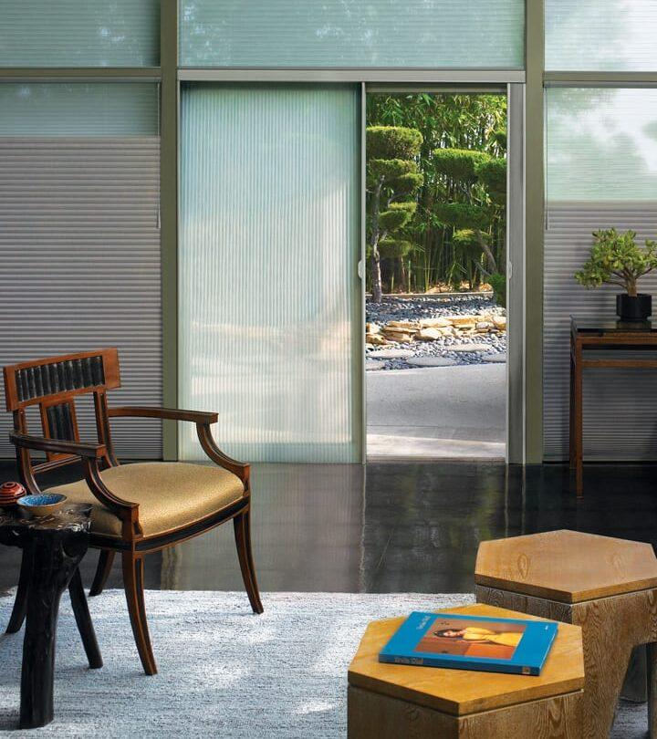 window treatment for sliding doors side entrance vertical blinds