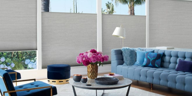 energy efficient Duette honeycomb shades Houston TX