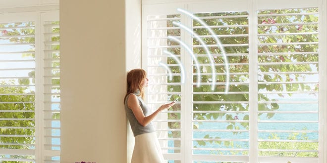 top 5 window covering innovations including motorized shutters Houston TX