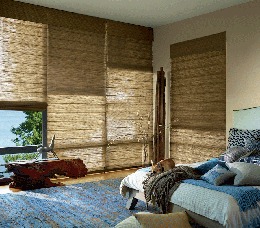 dual shades with room darkening you need motorized shades to sleep longer Memorial TX