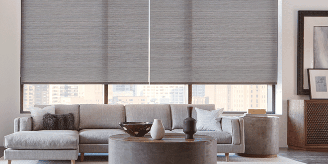 hunter douglas motorized shades for every room in Houston TX