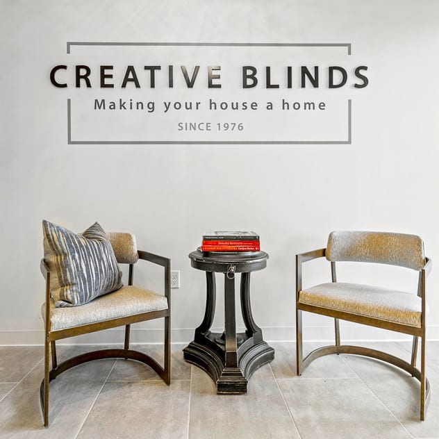 creative blinds entryway Houston TX