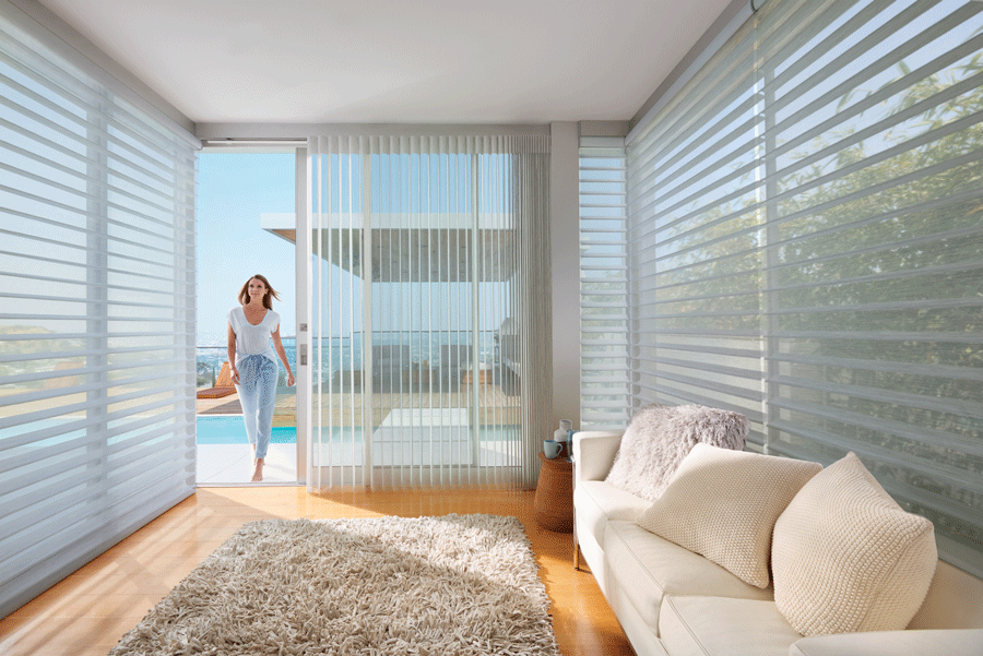 Bring the outdoors in with the right window treatments.