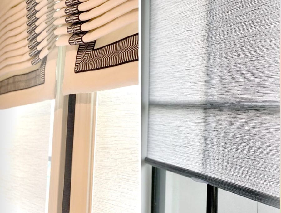 choices for light filtering or room darkening window treatments Memorial TX