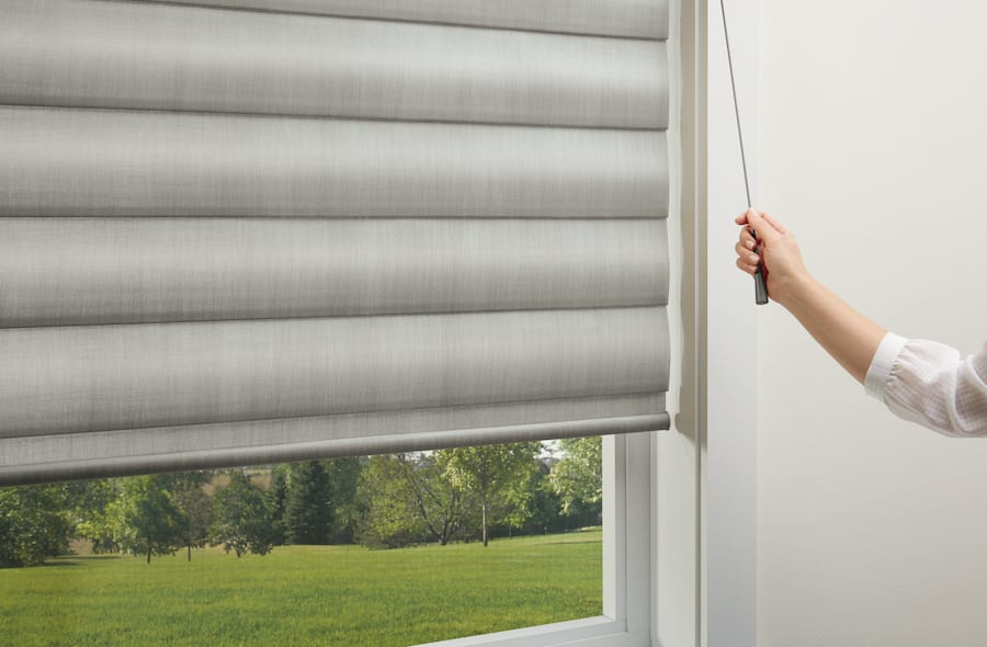 UltraGlide is a child safe corded shade options.