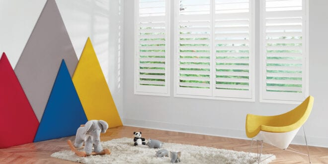 How to childproof with Hunter Douglas window treatments.