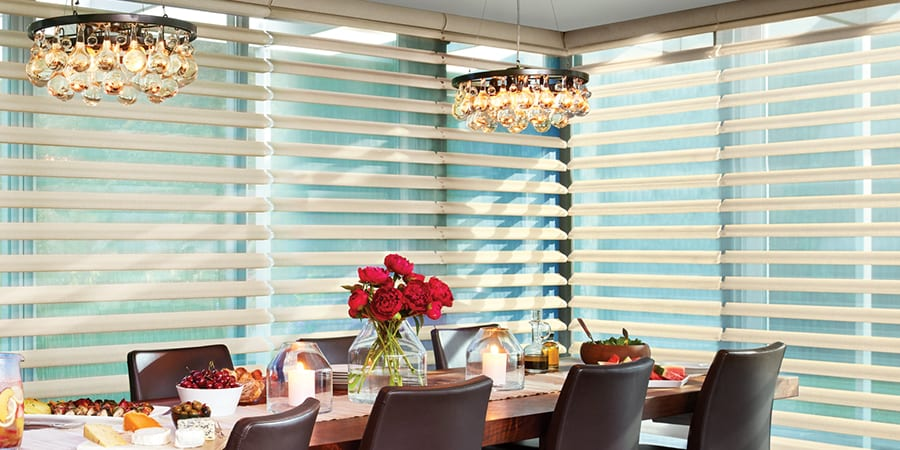 Dining Room Window Treatments Style Function Creative Blinds