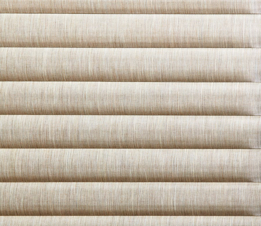 textured cellular roller shades close up in Houston TX