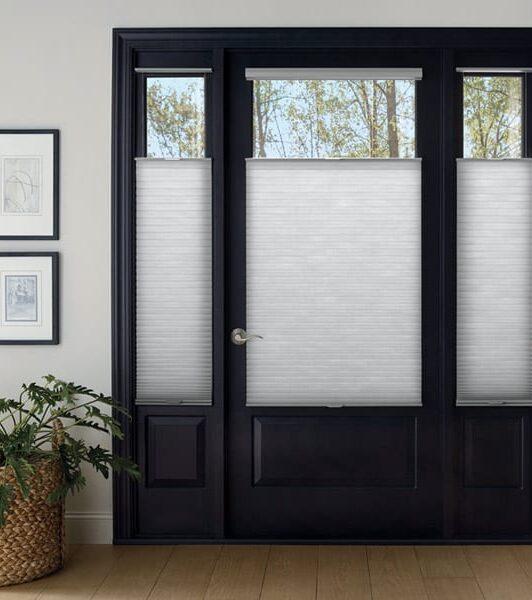 cellular shades for entryway door in Magnolia TX