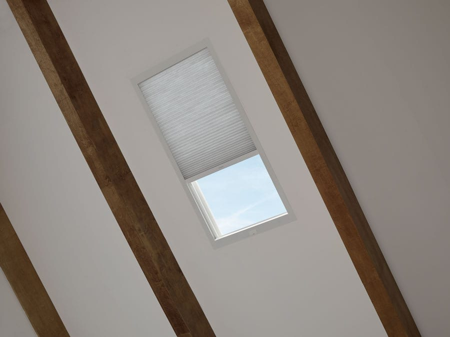 honeycomb shades for skylight window in Baybrook TX