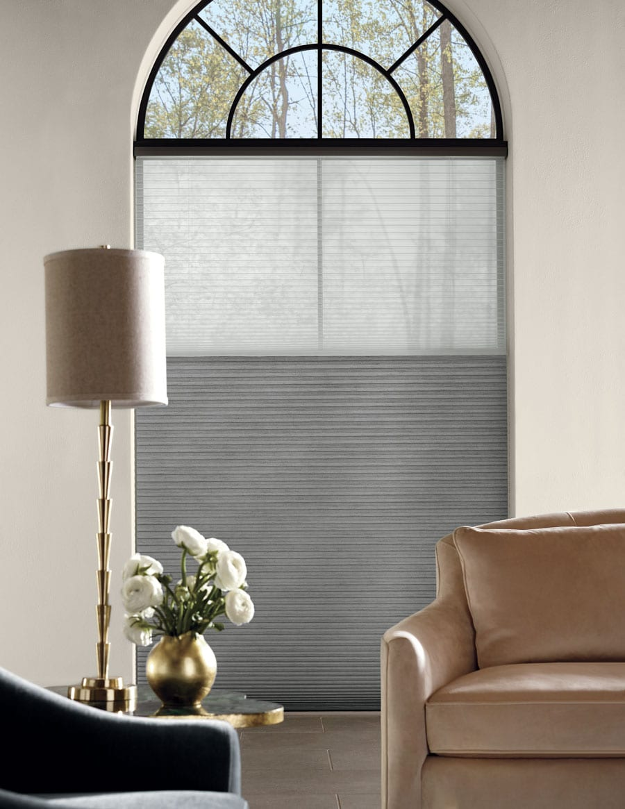 cover tricky windows for arched window treatments in Magnolia TX
